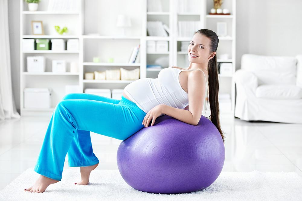 Упражнение для беременных чтобы легче родить 20