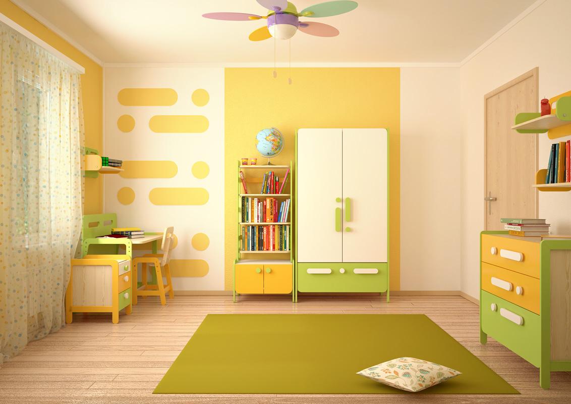 Какой цвет лучше подойдет для детской комнаты: правила сочетания и 821
