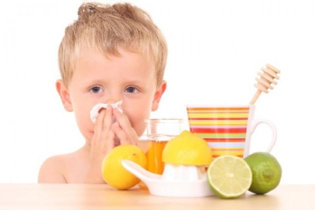 Кулинарные рецепты при простуде у детей