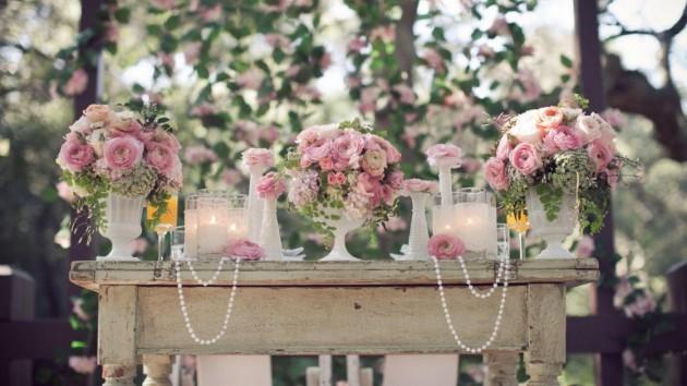 Шебби Шик свадьба: стильная вечеринка с винтажным привкусом
