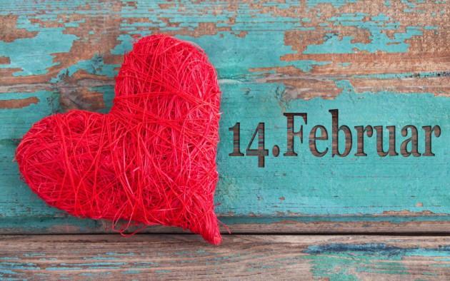 Как поздравить любимую в День всех влюбленных?