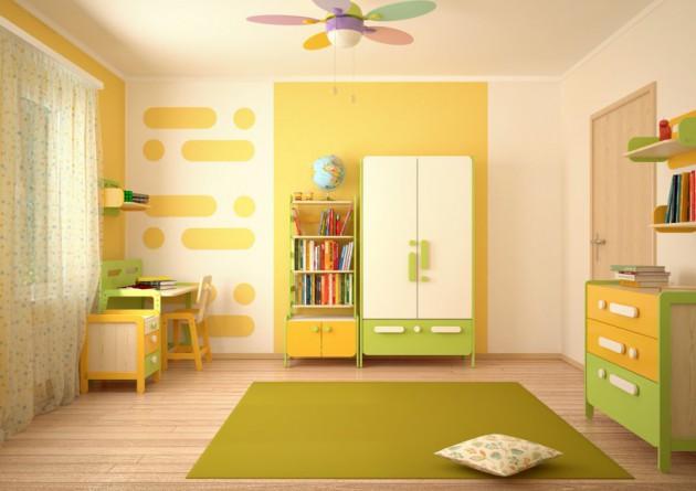 Какой цвет лучше выбрать для детской комнаты?