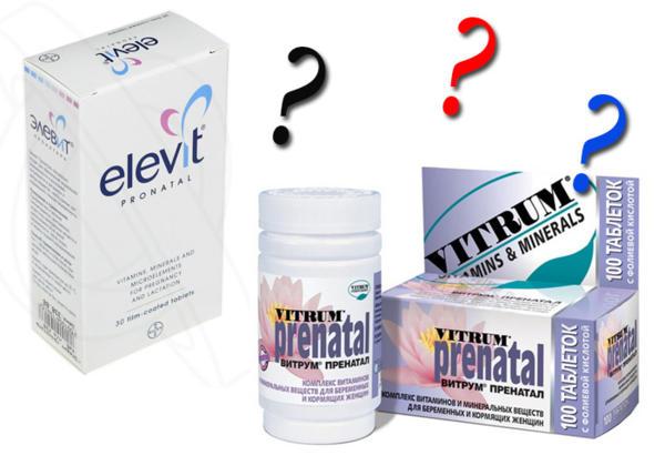 Элевит или Витрум: что лучше при планировании беременности