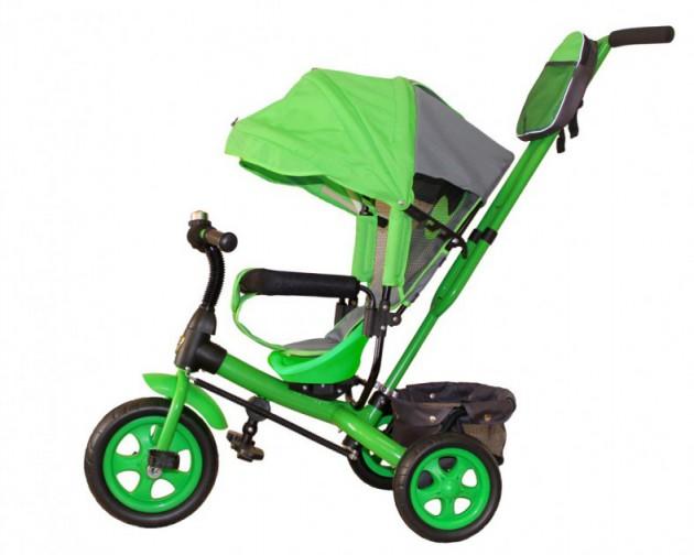 Детский трехколесный велосипед Galaxy Лучик Vivat - яркий, легкий и экономный