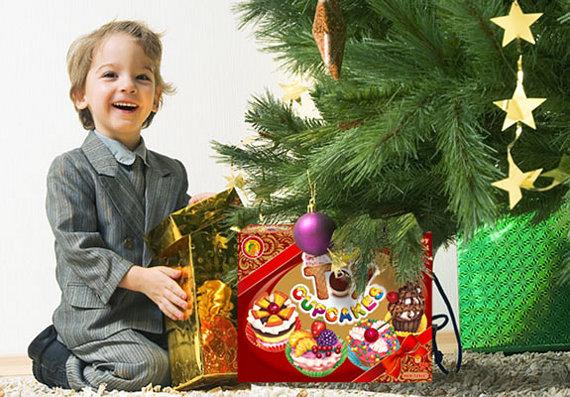 Новогодний подарок для сыновей разного возраста