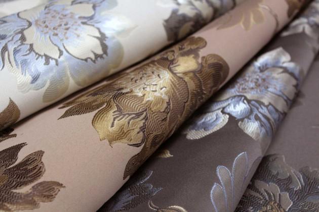 Ткань жаккард для штор и платья: характеристики и преимущества