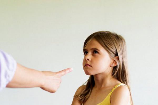 Как правильно наказывать дочку?