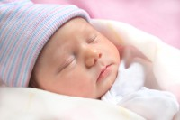 Сыпь на лице у новорожденных детей