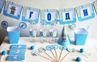 Советы по организации первого дня рождения малыша