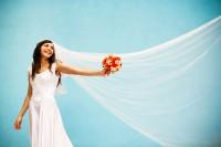 Советы по выбору свадебной фаты