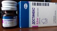 Достинекс при планировании и ведении беременности у женщин с гиперпролактинемией