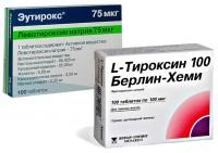 Эутирокс или Л-тироксин - критерии выбора