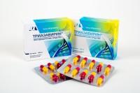 Триазаверин при простуде: эффективность препарата