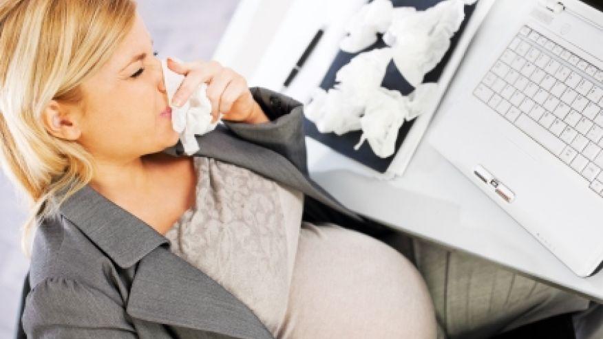 Простуда при беременности на 25 неделе как лечить