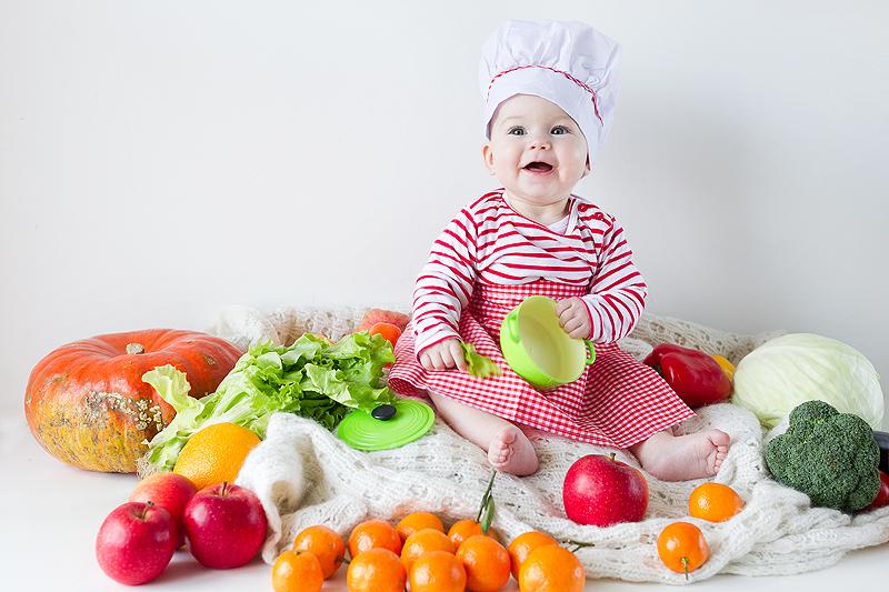 Объемы пищи для кормления ребенка
