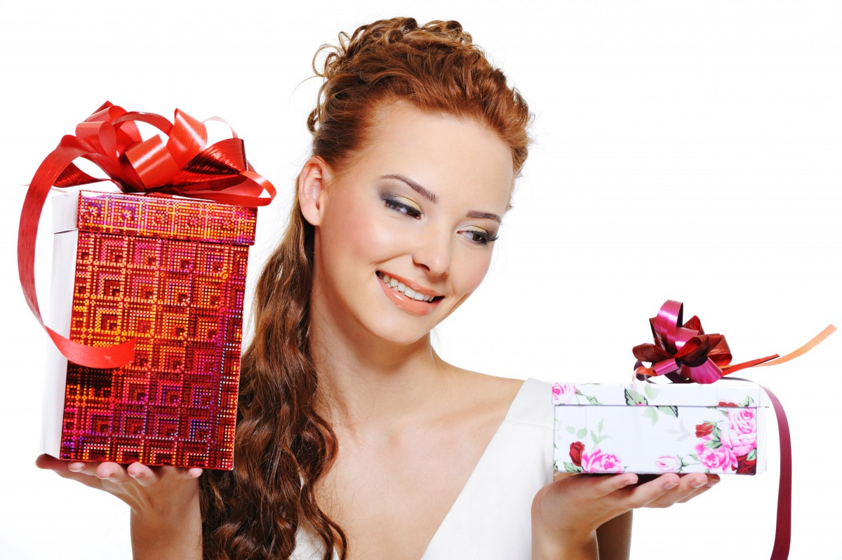 Заказ подарков для девушки