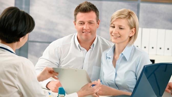 Муж и жена на обследовании