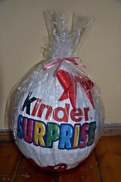 Подарки своими руками киндер сюрприз