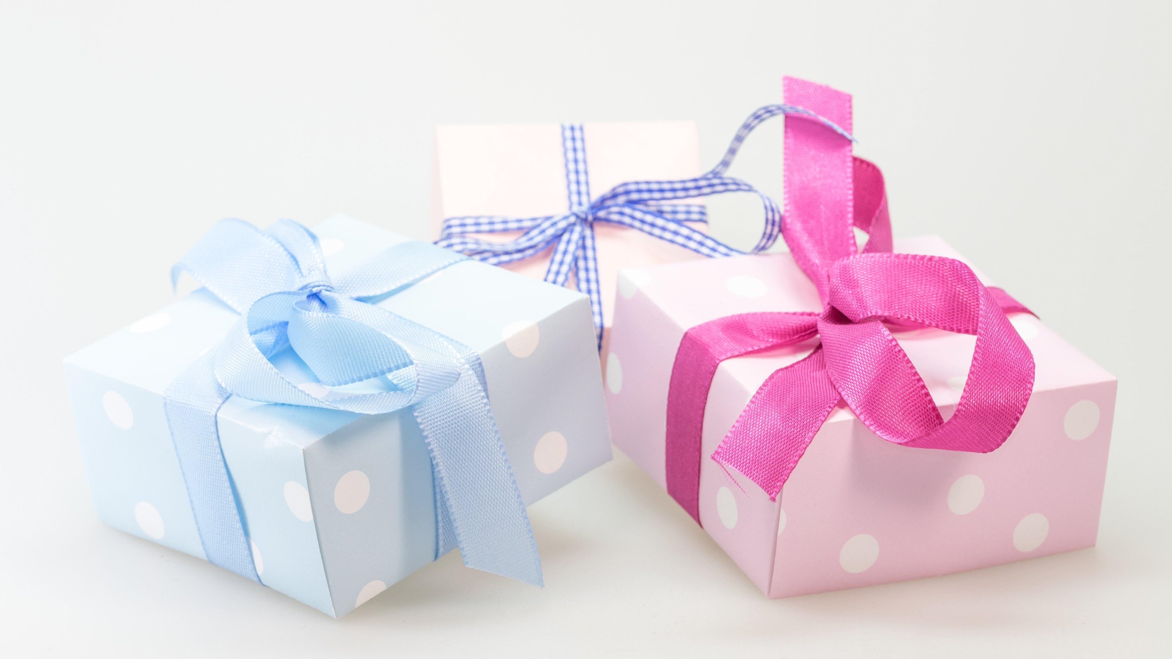 Подарок не какой реакции