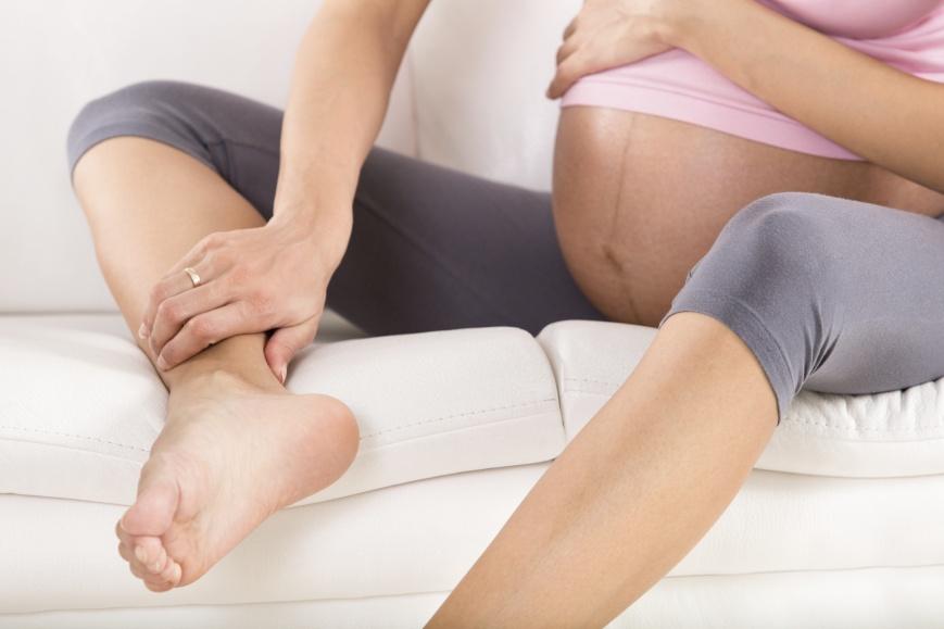 Судорога в ноге при беременности