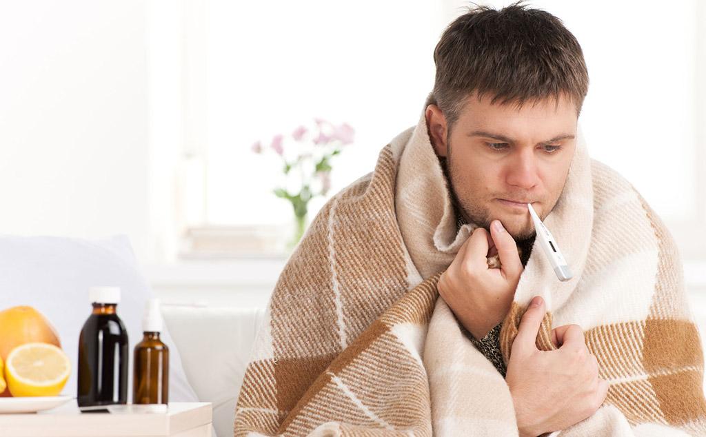 простуда у мужчины перед зачатием
