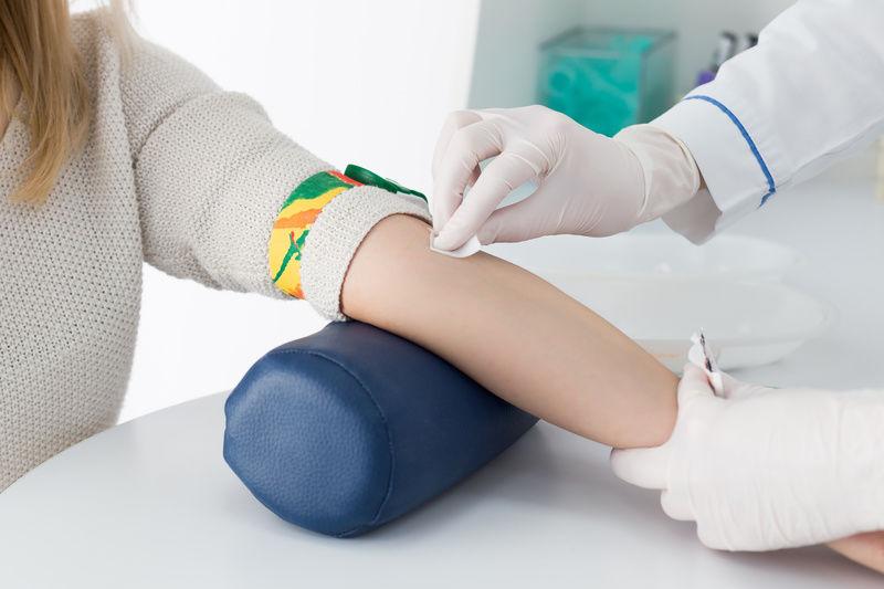 сдача крови в лаборатории