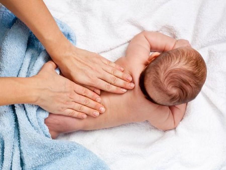 сеанс остеопатии для малыша