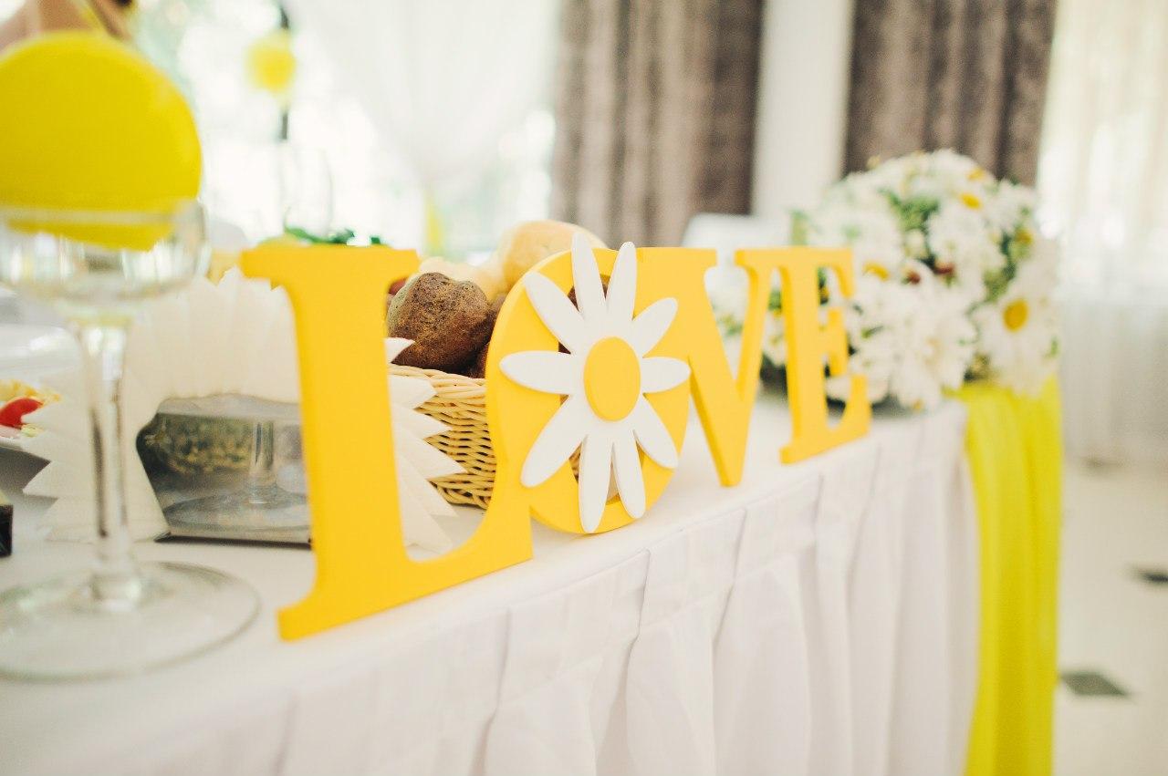 свадебный декор в июле